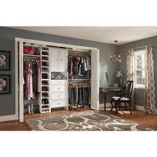 closetmaid selectives 25 in white custom closet organizer 7029 awesome home depot closet designer