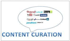 Afbeeldingsresultaat voor Content Curation