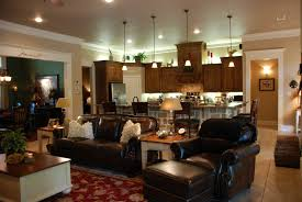 Open Kitchen Living Room Open Concept Kitchen Living Room Designs One Big Open