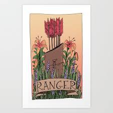 Ranger D D Ranger D D Art Print By Ismarus