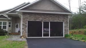 hiawee menards home working install craigs opener scr garage elegant garage door screen