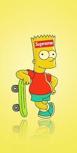 bart simpson supreme wallpaper top