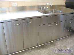 Stainless Steel Kitchen Furniture Stainless Steel Commercial Kitchen Cabinets Excellent Kitchens
