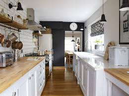 Victorian cottage shaker-style galley kitchen renovation