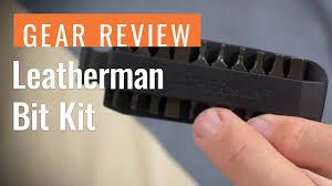 Gear Review: <b>Leatherman Bit Kit</b> - YouTube