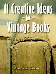 11 creative ideas for vine books
