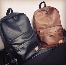 designer men backpacks pu leather rucksack school bag for teenagers black women backpack travel bolsas mochila feminina b25 college backpacks girl backpacks