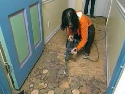 remove old flooring