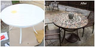 Outdoor Tile Table Top Diy Stone Table Beaute Jadore