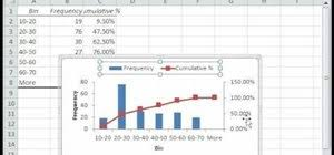 how to make a histogram in excel how to create a histogram using data analysis in excel