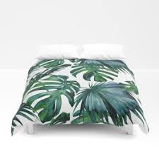 palm duvet cover. Beautiful Palm Tropical Palm Leaves Classic Duvet Cover Throughout A