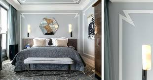 wall molding bedroom wall decor idea highlight a wall or a piece of furniture with contemporary