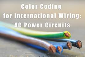 international wiring color codes for ac power circuits label id international color coding feature