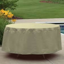 image of 60 round patio table cover