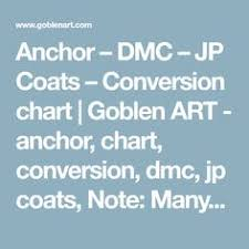 Floss Conversion Charts For Bucilla And Dimensions Kits To