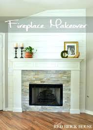 update red brick fireplace update red brick fireplace farmhouse fireplace makeover reveal ideas to update red