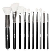 morphe brushes 692 10 piece deluxe brush set with ostrich skin snap case