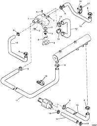 Cp performance thermostat housing standard cooling s n 0f305000 rh cpperformance 350 mercruiser cooling system schematic