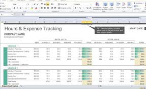 Cost Savings Tracking Template Project Cost Tracker Template For Excel 2013 3 Fppt