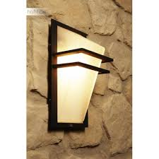 eglo park outdoor wall light black anthracite white 1 light source