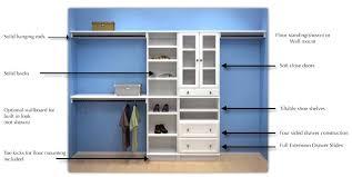 closet organizer kits s wood systembuild starter kit with drawers