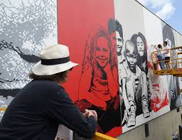 wall street art festival of grand paris sud evry france photo mathgoth gallery