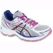 hot pink womens running shoes asics