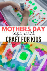 Handprint art, poem cards, chalkboard flower pots, and even dyed flowers! Mother S Day Crafts Preschool Activity Active Littles
