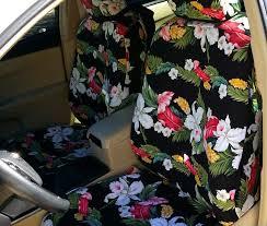 2016 toyota camry custom front seat covers in hawaiian fl black