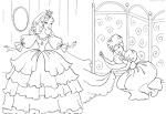 Раскраски красивые принцессы