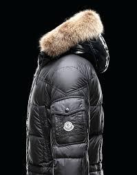 fur hood coat men fur hooded down coat for men in shiny black black puffer coat