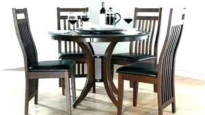 round dining room table sets for 4 round glass dining table and 4 chairs 4 chair