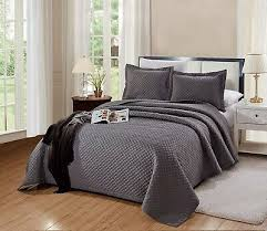 cal king size naples quilt solid dark