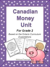 Canadian Money Unit for Grade 2 (Ontario Curriculum) | Printable ...