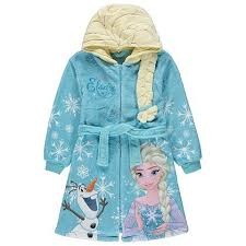 disney frozen elsa dressing gown kids