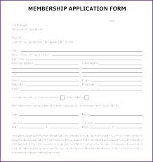 Club Membership Form Template Health Club Membership Contract Template From Application Form Word