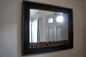broken mirror diy