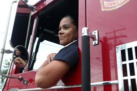 Latina Firefighter First Female Pumper Engineer Connecticut Post