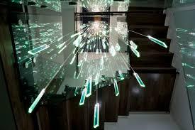 chandelier fiber optic fibre optic chandelier edgley design