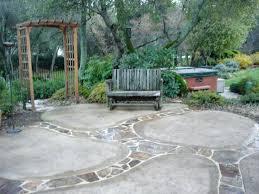 Backyard Patio Concrete Concrete Patio Designs Layouts Backyard