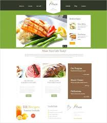 Recipe Website Template Trituradora Co