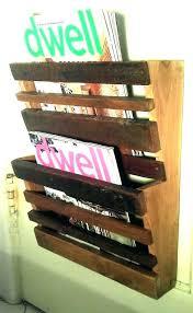 magazine racks wall mounted best rack ideas on mount holder reclaimed wood australia wood magazine rack wall71 rack