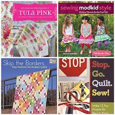 Craft Book Month 2012 + Giveaway! | Craft Buds & Fat Quarter Shop is giving away 1 copy each of Quilts from the House of  Tula Pink by Tula Pink, Sewing ModKid Style by Patty Young, Skip the Borders  by ... Adamdwight.com