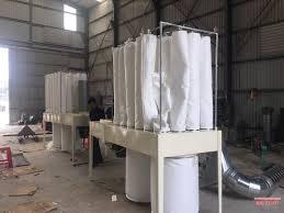 Máy hút bụi di động túi vải dùng trong ngành gỗ