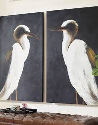 big art is a huge trend and our white heron artwork captures one of the larger more majestic birds of north america the white heron  on white heron wall art with white heron wall art pinterest walls woods and spaces