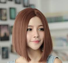 Free Shipping Wigs Girls With Short Hair Carve Bangs Short Hair