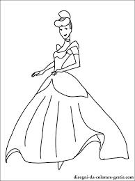 Disegni Principessa Cenerentola Da Colorare Disegni Da Colorare Gratis
