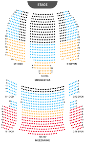 Ice Palace Seating Chart Your A To Z Guide To Broadway Theater Seating Charts
