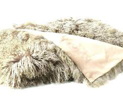 lamb fur rug contemporary area rugs by curly imports mongolian blush