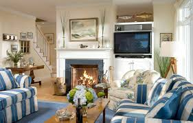home office den ideas. Great White And Blue Living Room Den Decorating Ideas With Home Office